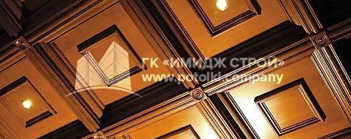 кессонный потолок боттичелли 1