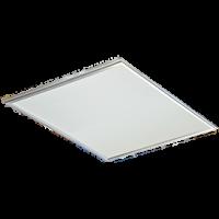 LED panel тонкая панель без драйвера 40W 220V 2700K Матовая 595x595x9