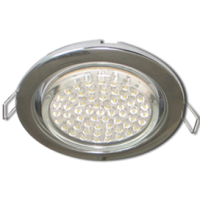 GX53 H4 Downlight without reflector_chrome (светильник) 38x106 - 10 pack