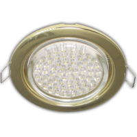 GX53 H4 Downlight without reflector_gold (светильник) 38x106 - 10 pack