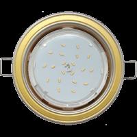 GX53 H4 светильник встраив. без рефл. 2 цв. жемчуг-золото-жемчуг 38х106