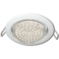 GX53 H4 Downlight without reflector_white (светильник) 38x106 - 10 pack